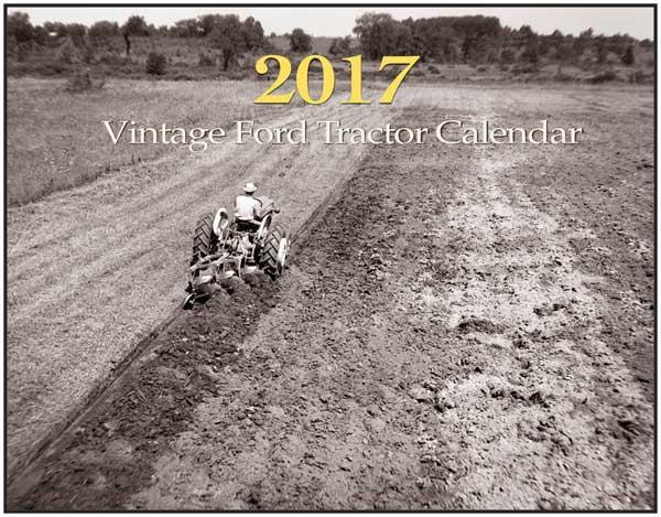 Vintage Ford Tractor Calendar 2017