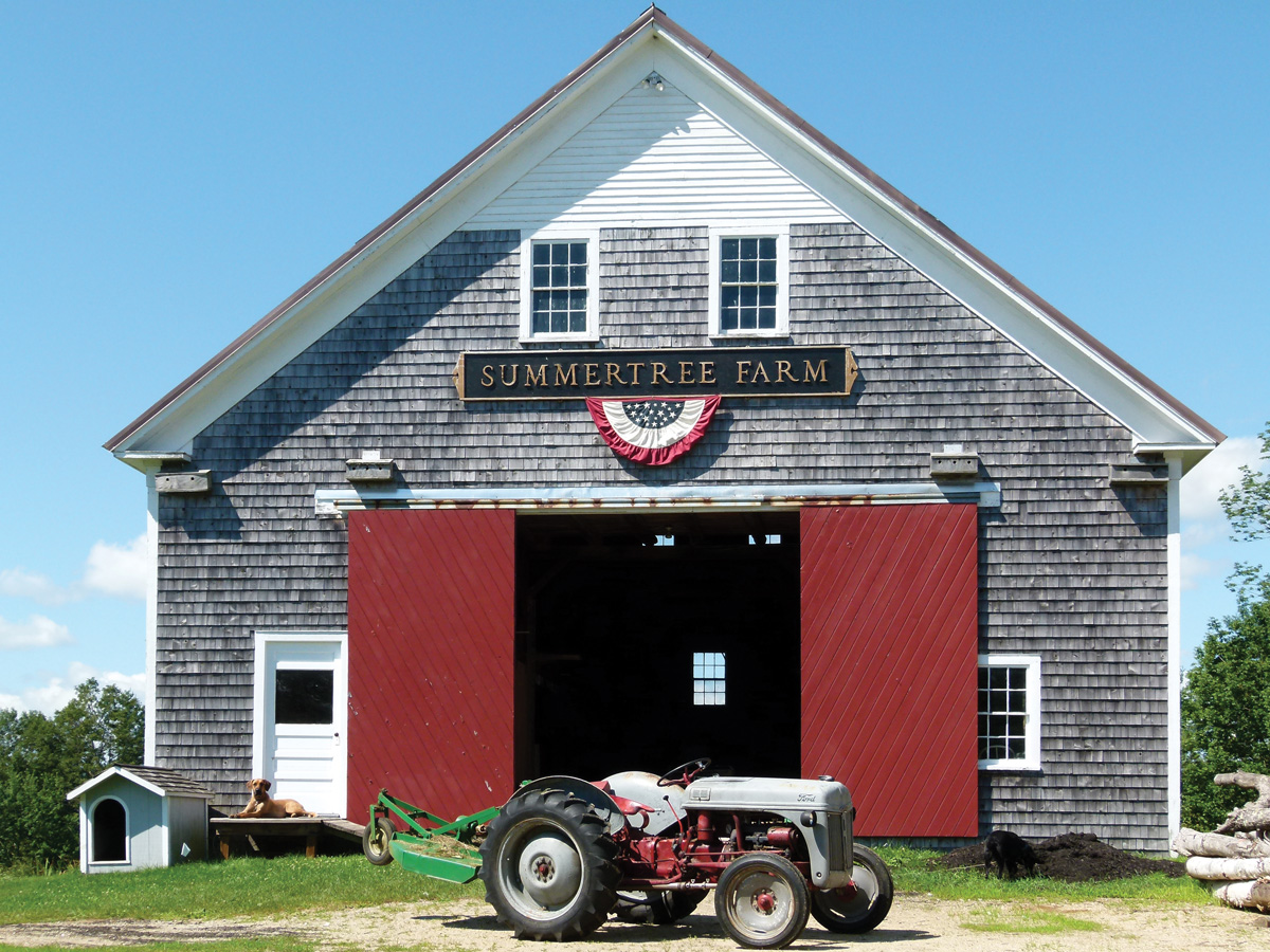Summertree Farm barn