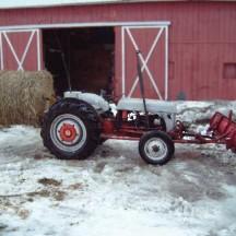 Daniel Howe's 1940 9N at work!
