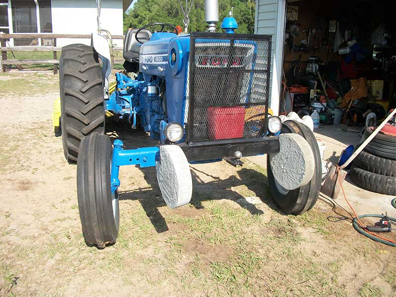 Homemade Tractor Bumper : Ford n news