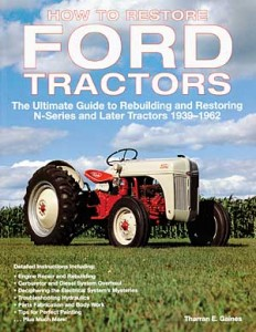 How to restore ford tractors book cover