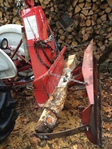 Gardner Waldeier's jenky quick-attach snowplow