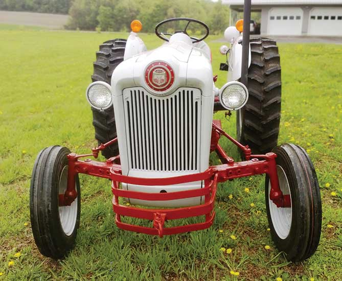 Ford Tractor Fender Skin : N news the magazine for ford tractor enthusiast