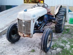 My next project: another tractor restoration!
