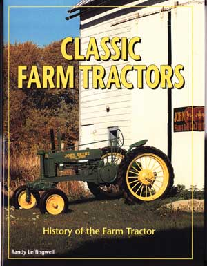 Book review: Classic farm tractors cover